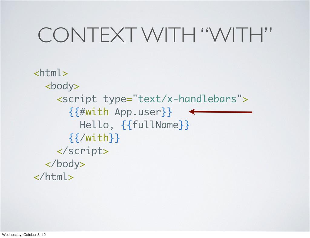 "<html> <body> <script type=""text/x-handlebars"">..."