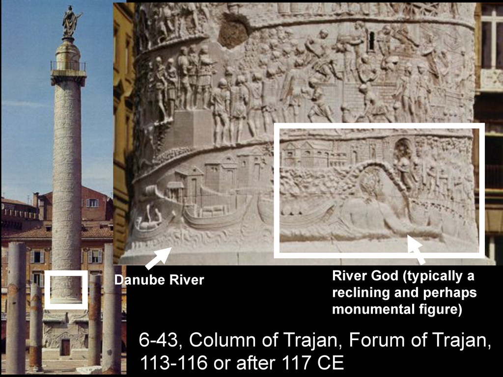 Danube River River God (typically a reclining a...