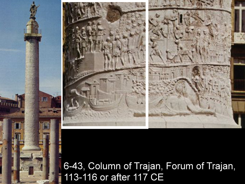 6-43, Column of Trajan, Forum of Trajan, 113-11...