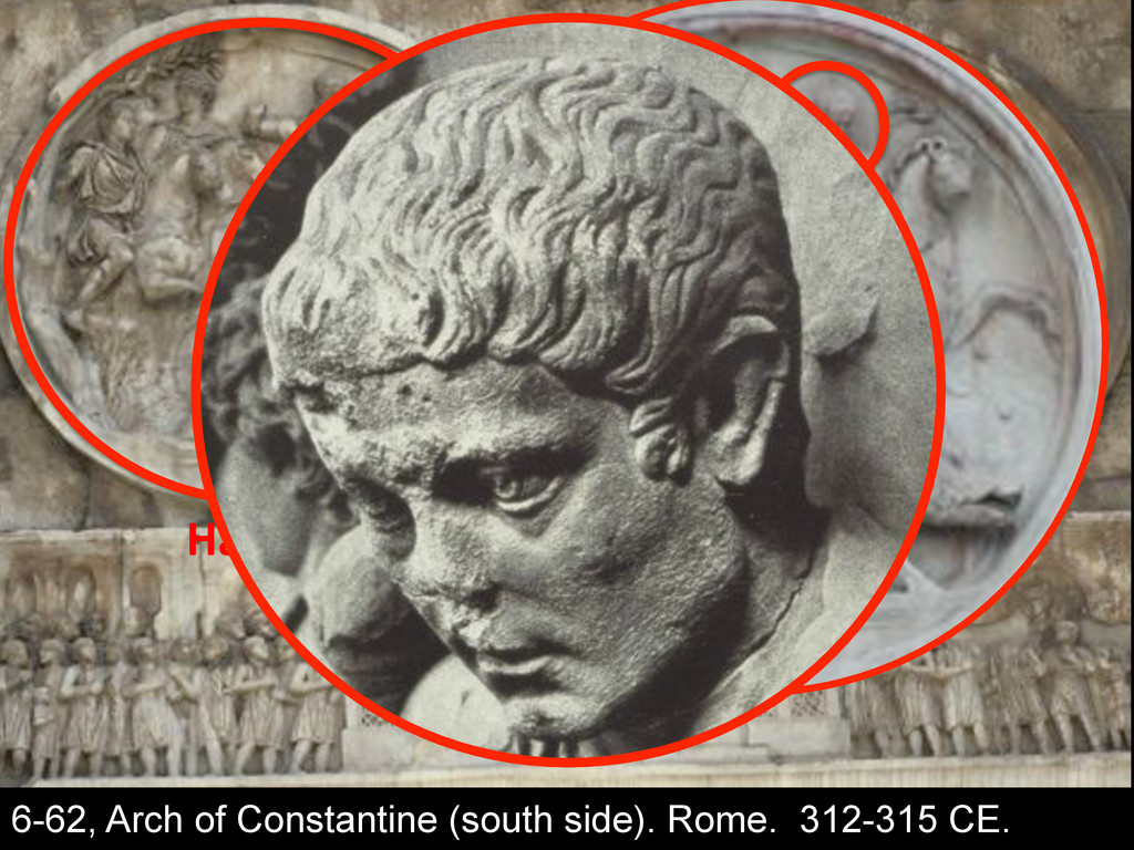 C$-7%$4' 6-62, Arch of Constantine (south side)...