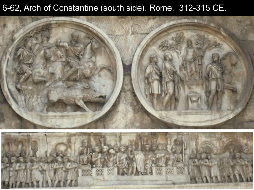 6-62, Arch of Constantine (south side). Rome. 3...
