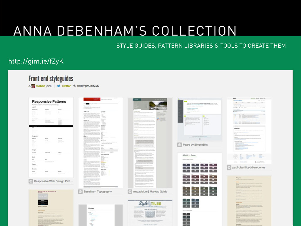 ANNA DEBENHAM'S COLLECTION STYLE GUIDES, PATTER...
