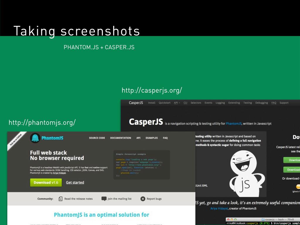 Taking screenshots PHANTOM.JS + CASPER.JS http:...