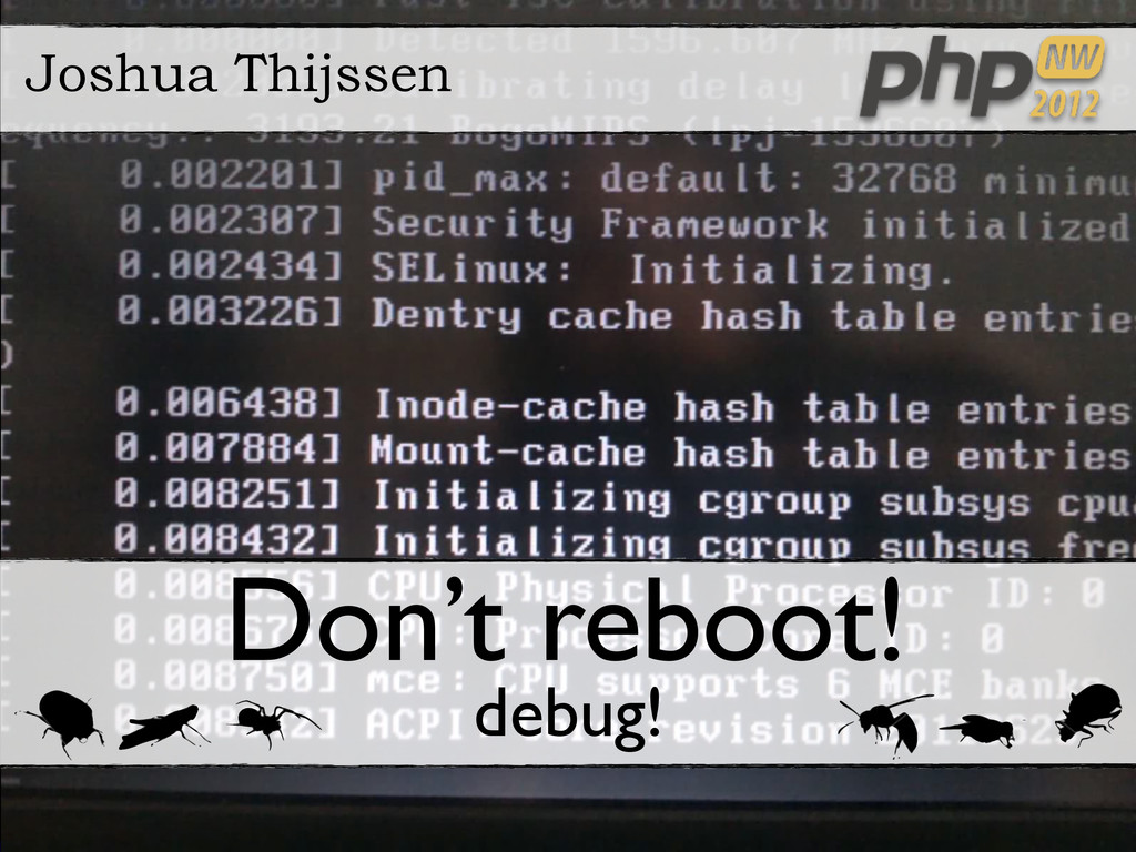 http://www.techademy.nl http://joind.in/xxxx Te...