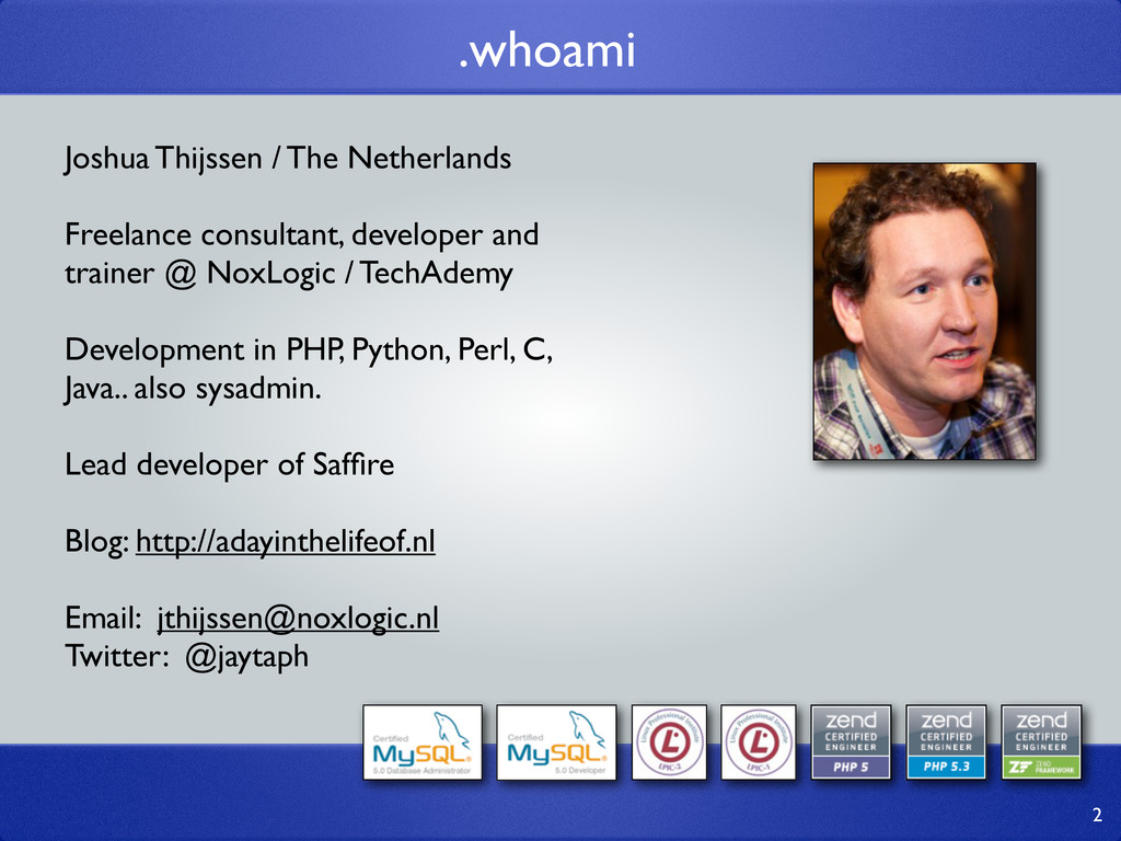 Joshua Thijssen / The Netherlands Freelance con...