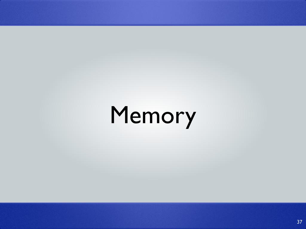 37 Memory