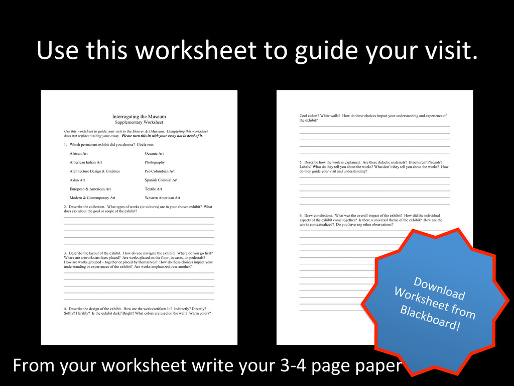 Use this worksheet to guide your...