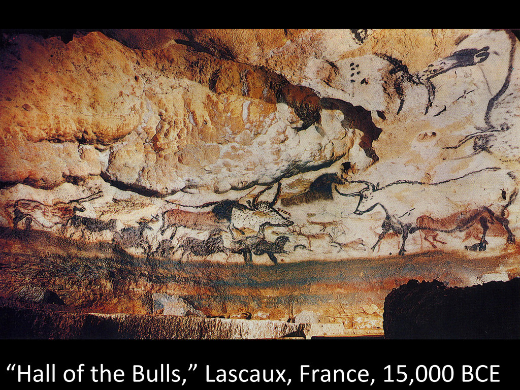 """Hall of the Bulls,"" Lascaux, Fr..."