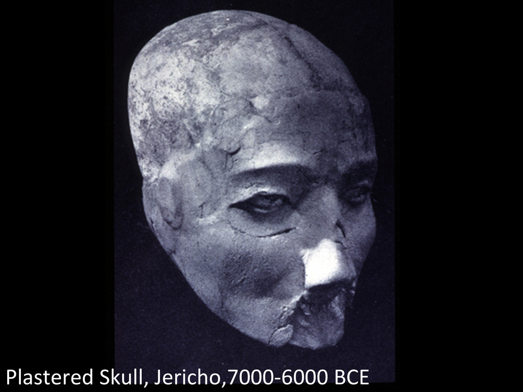 Plastered Skull, Jericho,7000-‐6000 B...