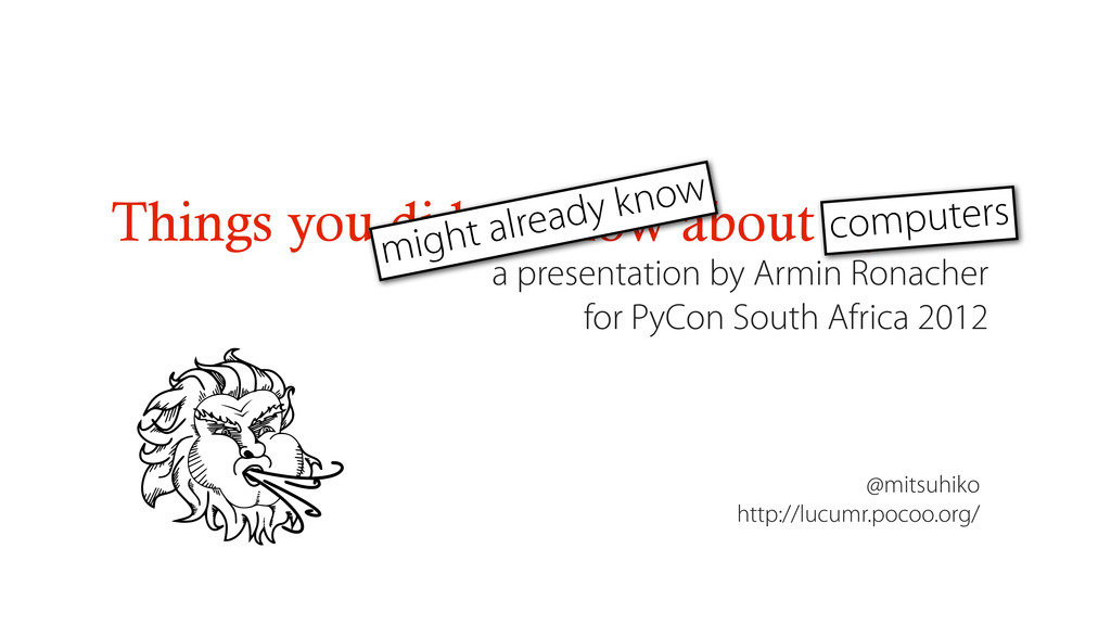 Things you didn't know about Python a presentat...