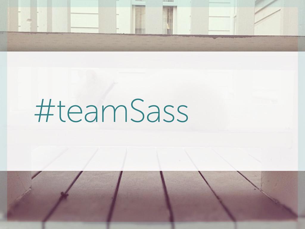 #teamSass