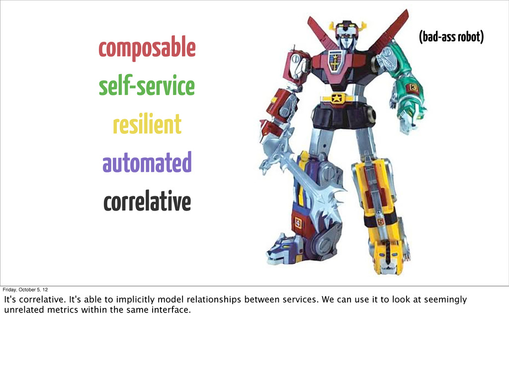 composable self-service resilient automated cor...