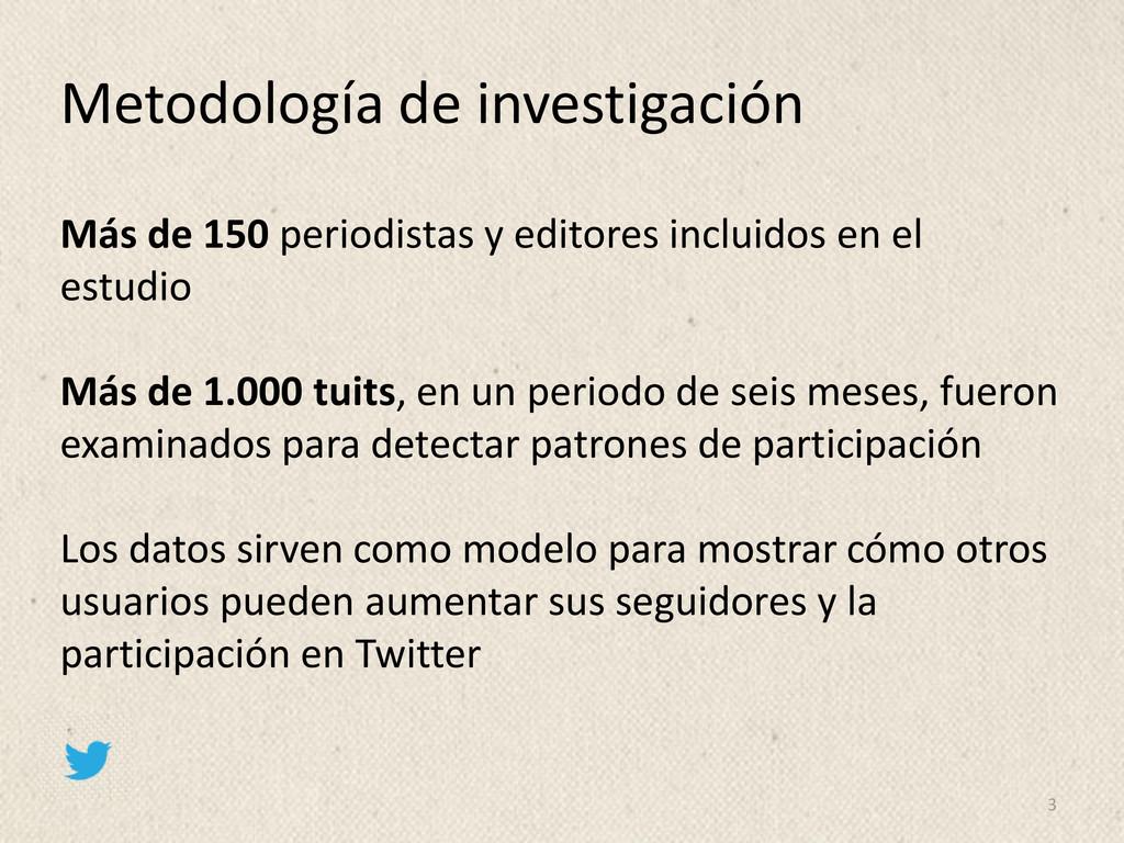 Metodología de investigación Más de 150 periodi...