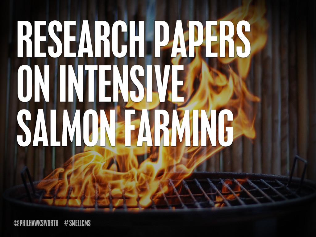 SMELLCMS # @PHILHAWKSWORTH RESEARCH PAPERS ON I...