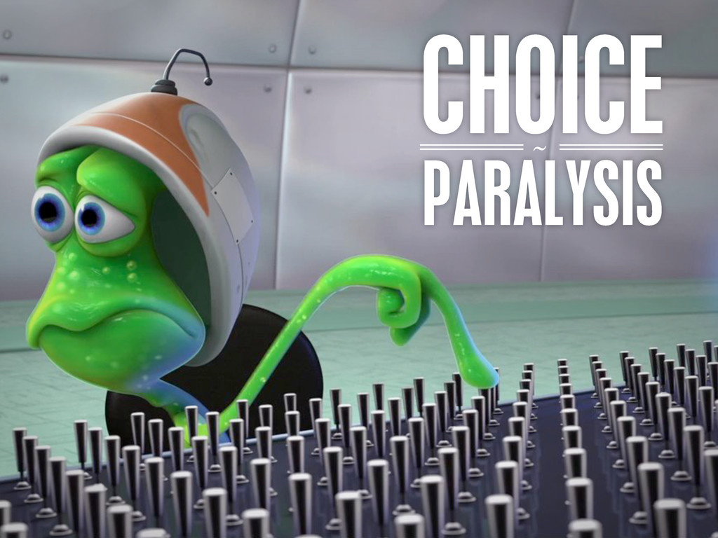 CHOICE ~ PARALYSIS