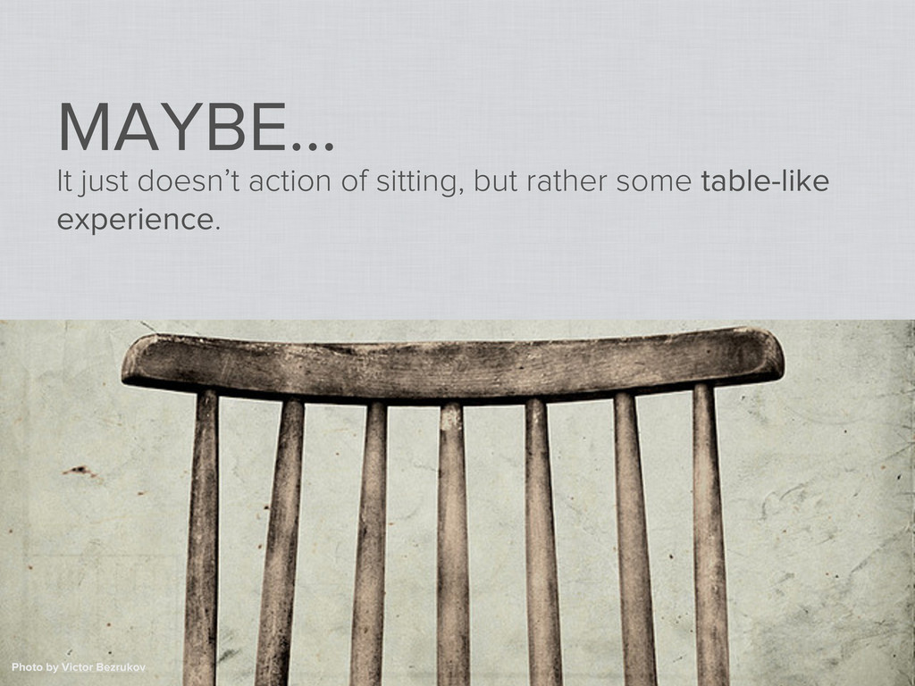 MAYBE... It just doesn't action of sitting, but...