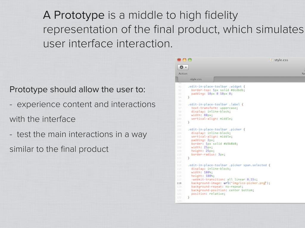 WWW.UXPIN.COM - THE UX DESIGN APP A Prototype i...