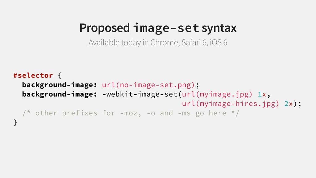#selector { background-image: url(no-image-set....
