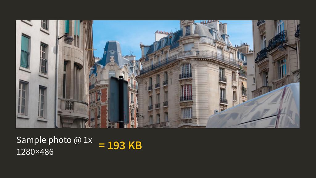 Sample photo @ 1x 1280×486 = 193 KB