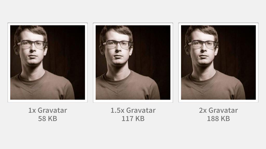 1x Gravatar 58 KB 2x Gravatar 188 KB 1.5x Grava...