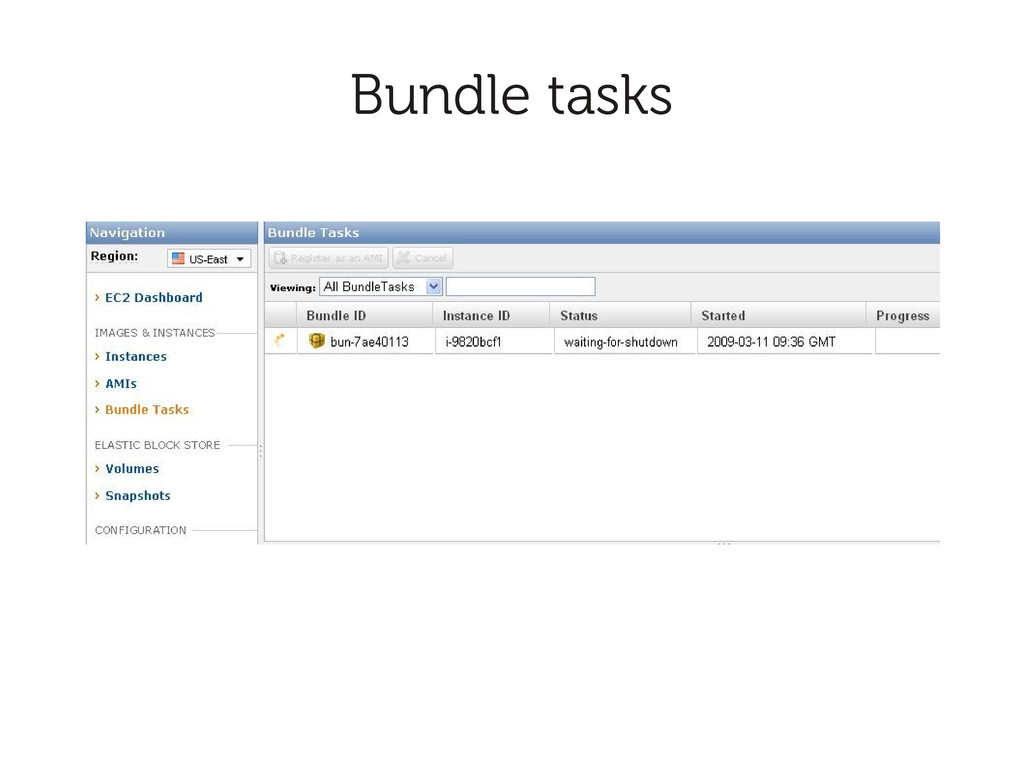 Bundle tasks