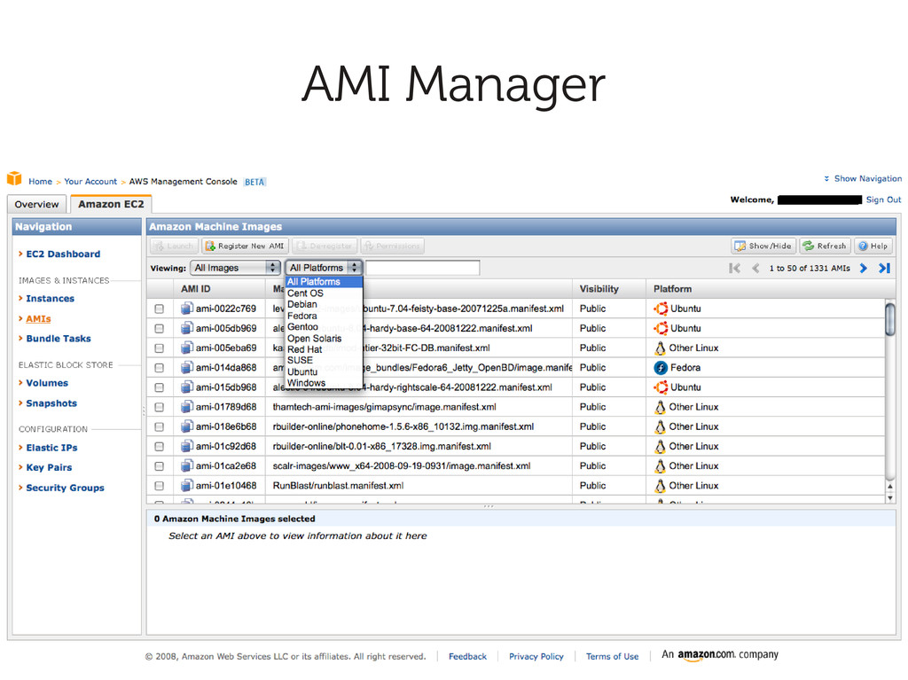 AMI Manager