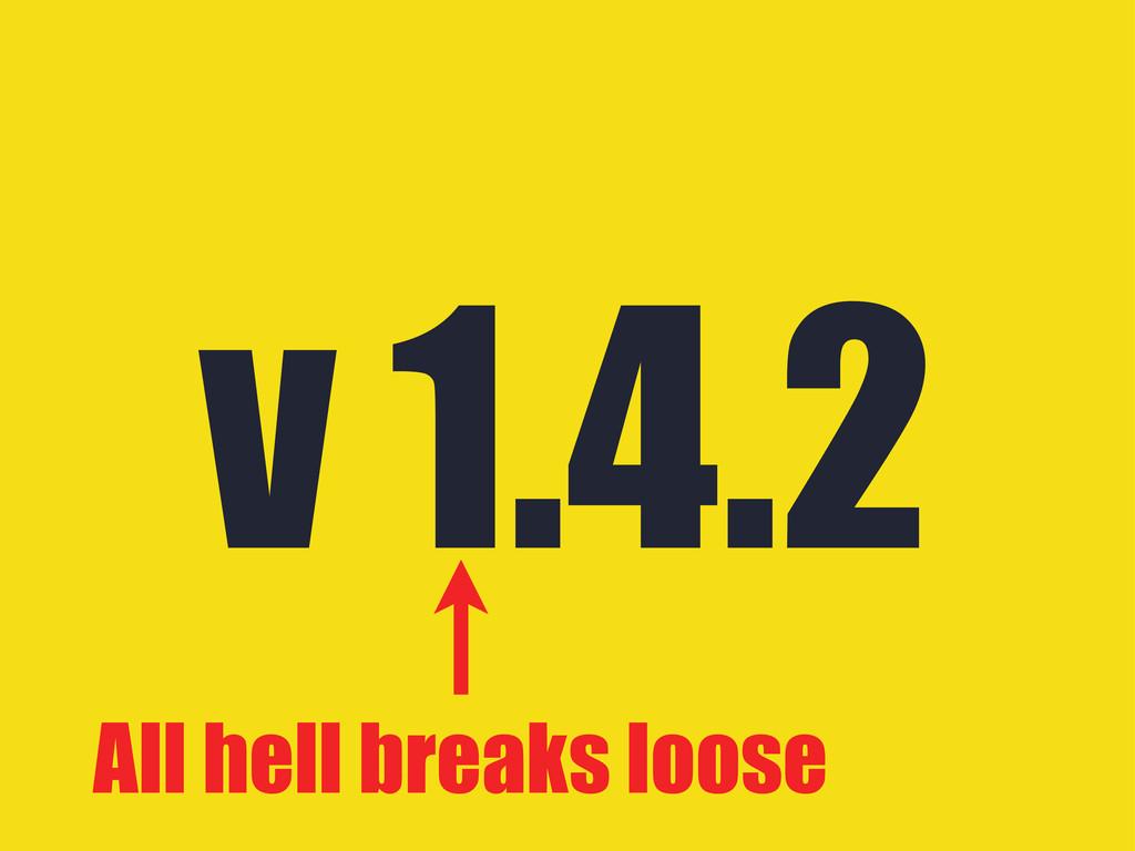 v 1.4.2 All hell breaks loose