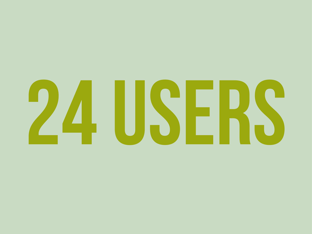 24 Users