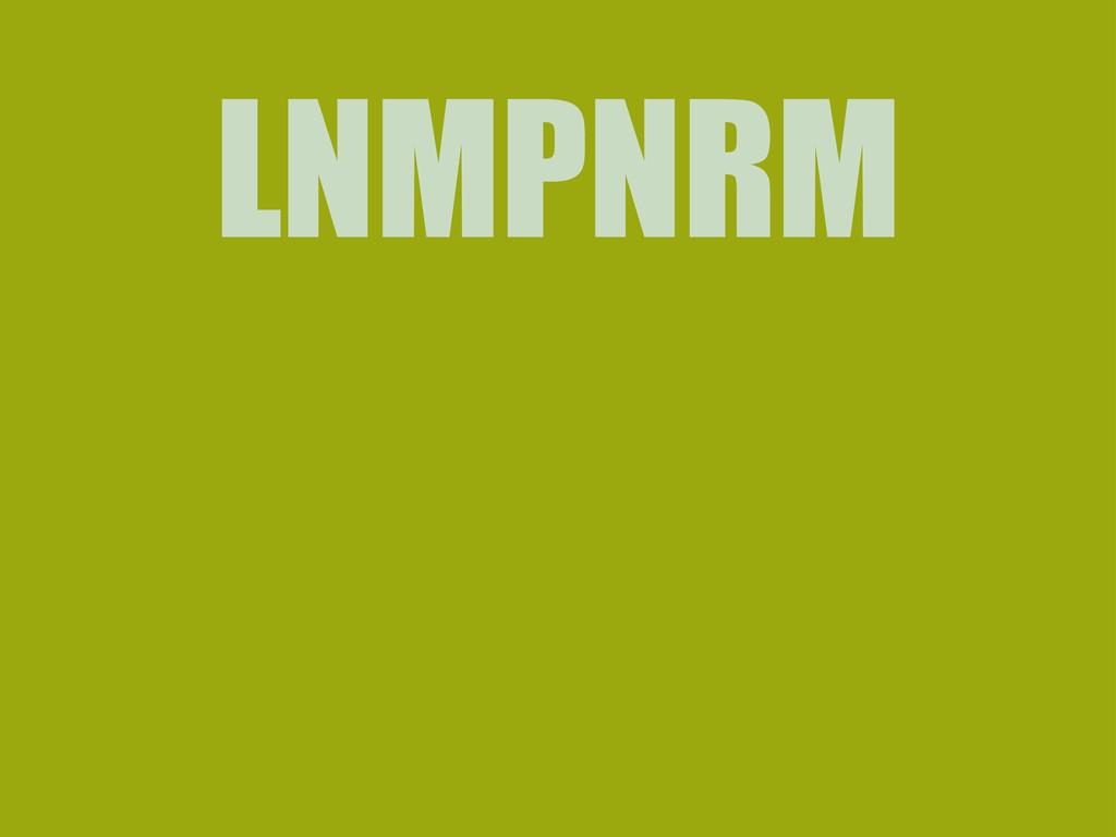 LNMPNRM