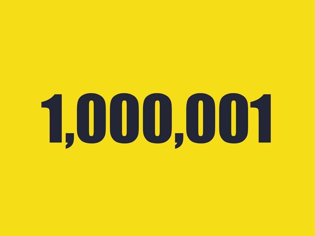 1,000,001