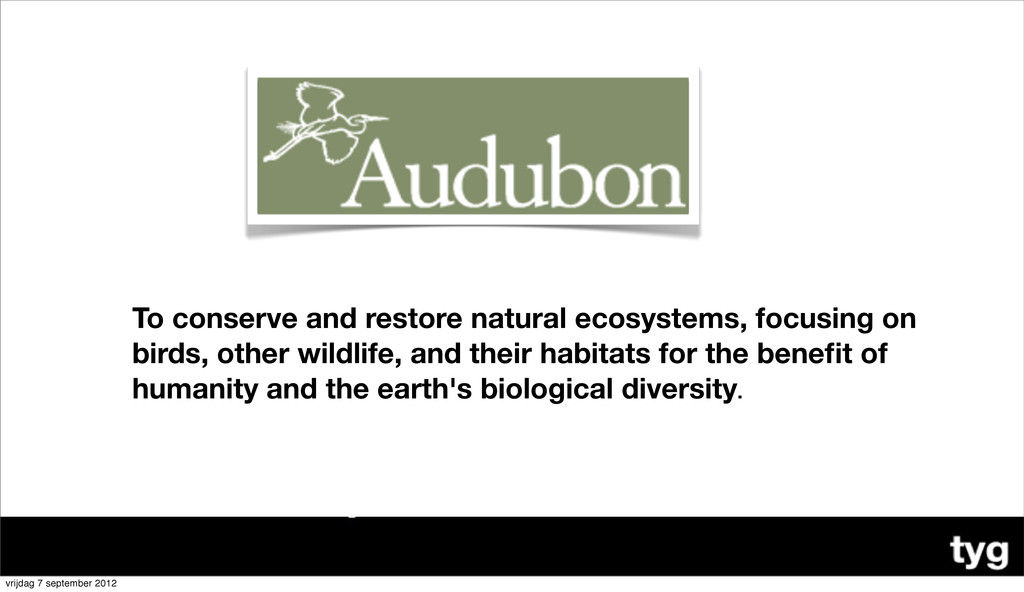 To conserve and restore natural ecosystems, foc...