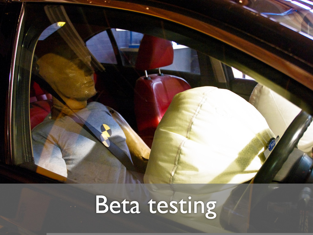 Beta testing
