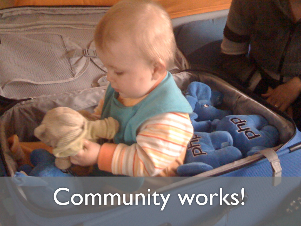 Community works!
