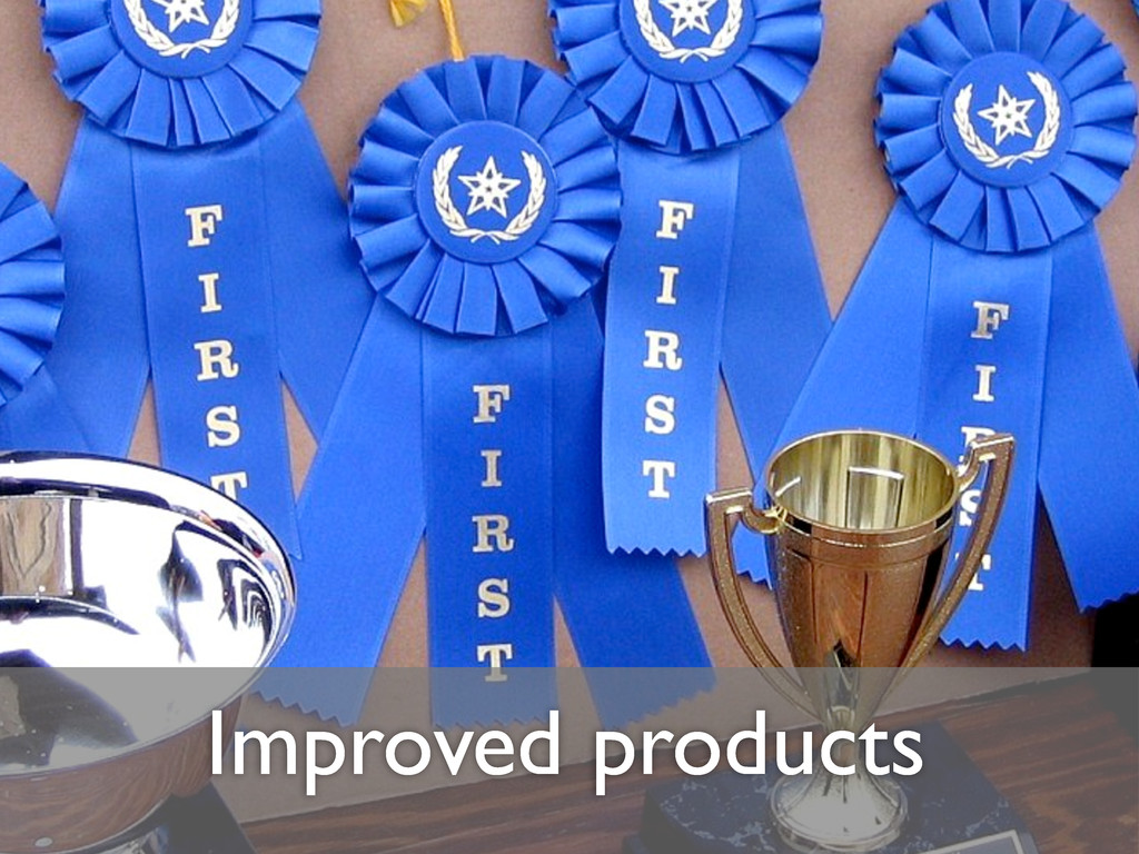 Improved products