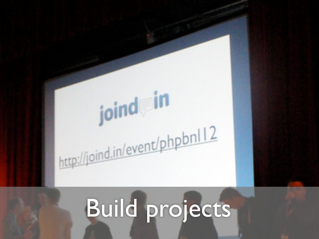 Build projects