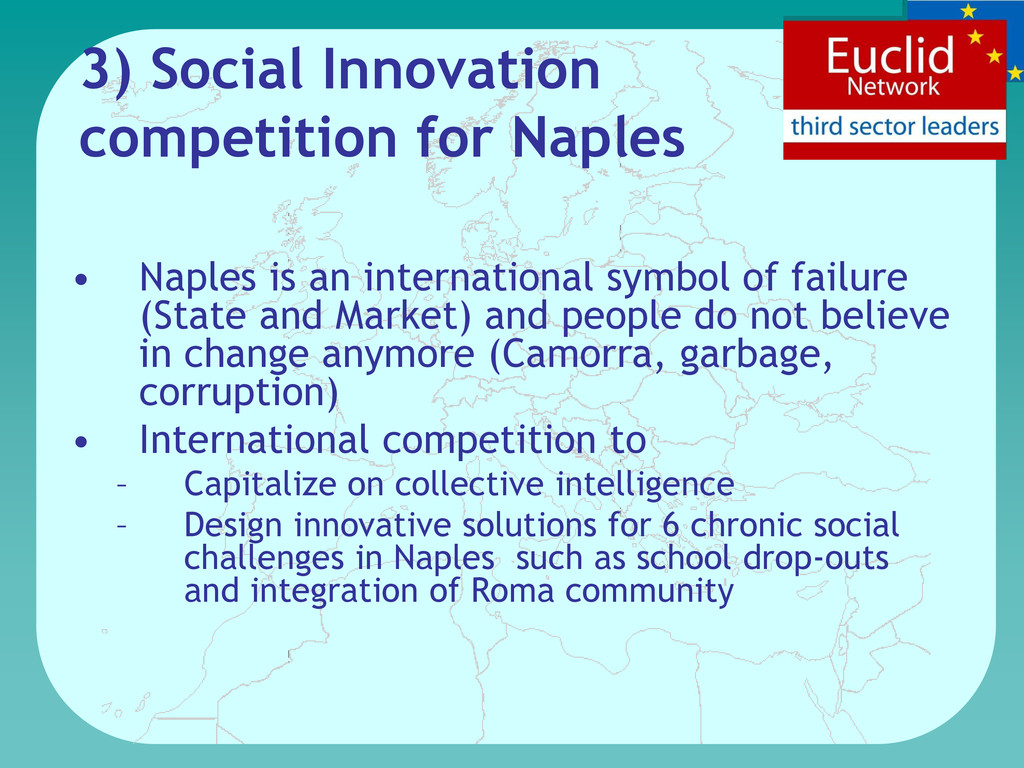 3) Social Innovation competition for Naples • N...