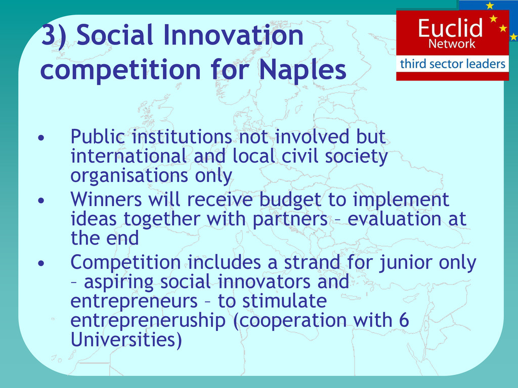 3) Social Innovation competition for Naples • P...