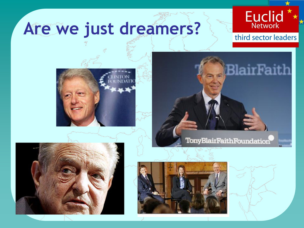 Are we just dreamers?