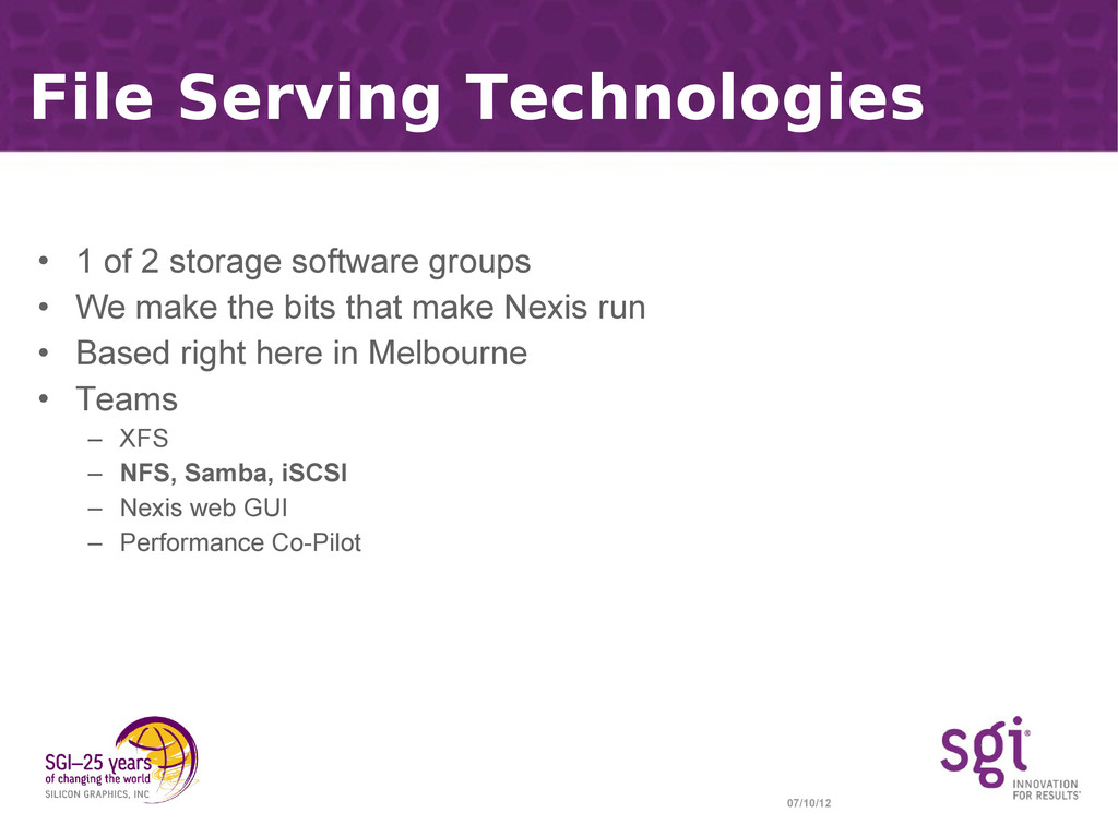 07/10/12 File Serving Technologies • 1 of 2 sto...
