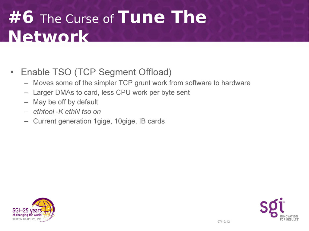 07/10/12 #6 The Curse of Tune The Network • Ena...