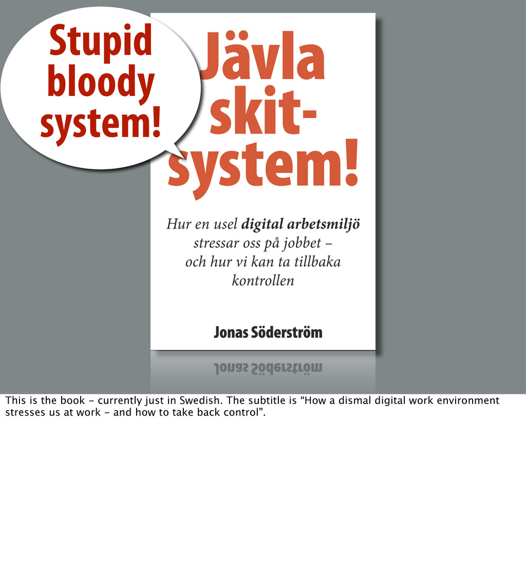 Stupid bloody system! This is the book - curren...