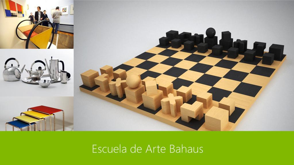 Escuela de Arte Bahaus