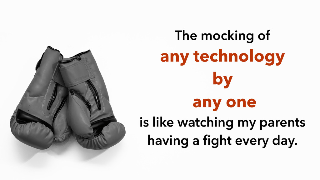 The mocking of the WordPres The mocking of any ...