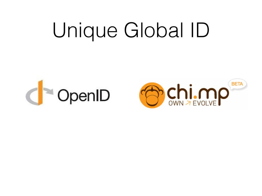 Unique Global ID