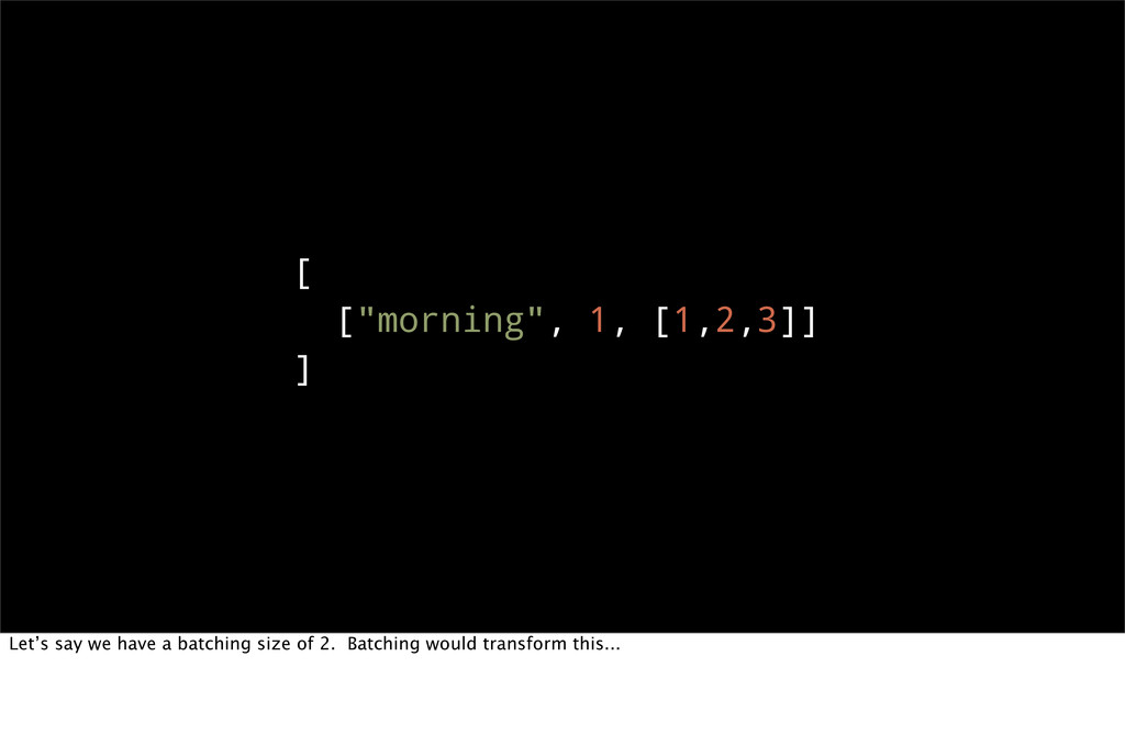 """[ [""""morning"""", 1, [1,2,3]] ] Let's say we have a..."""