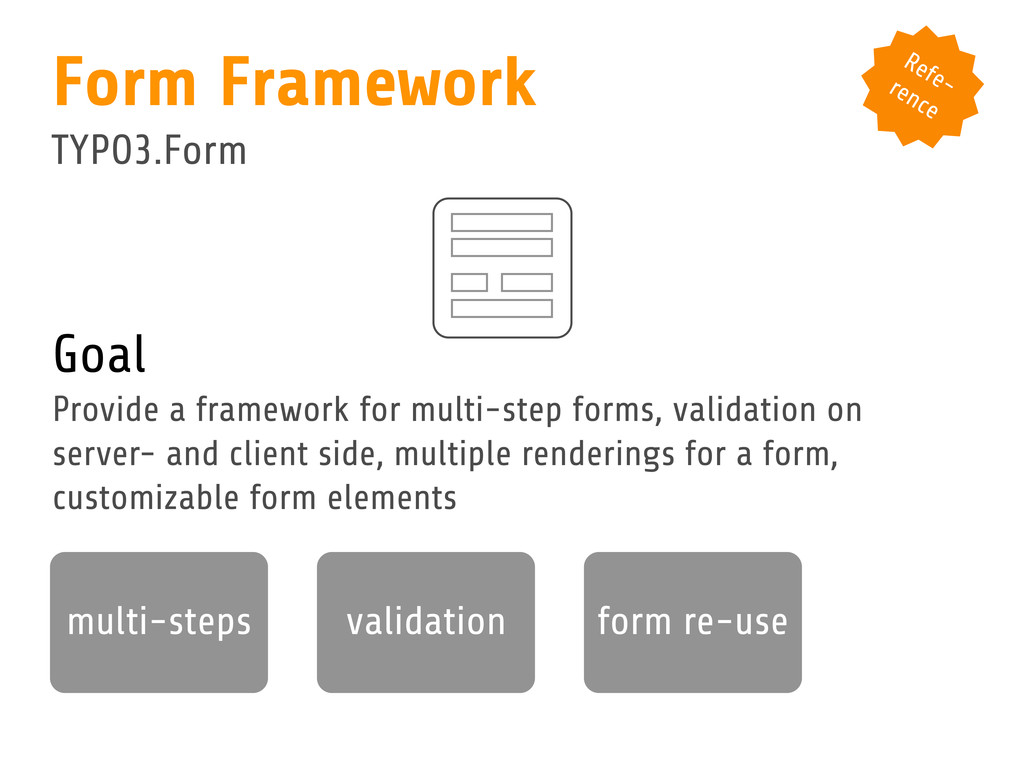 Goal Provide a framework for multi-step forms, ...