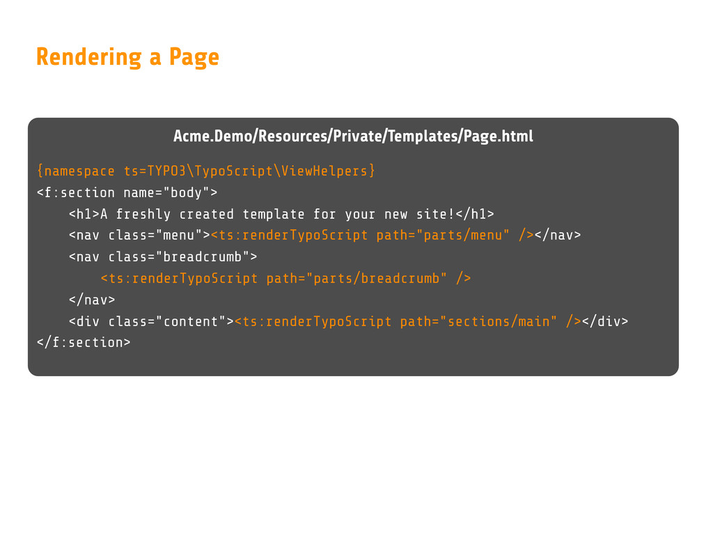 Acme.Demo/Resources/Private/Templates/Page.html...