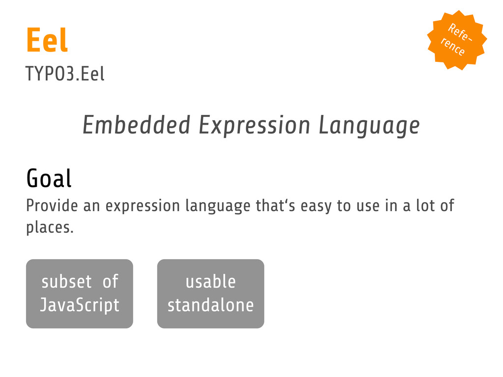 Embedded Expression Language Goal Provide an ex...
