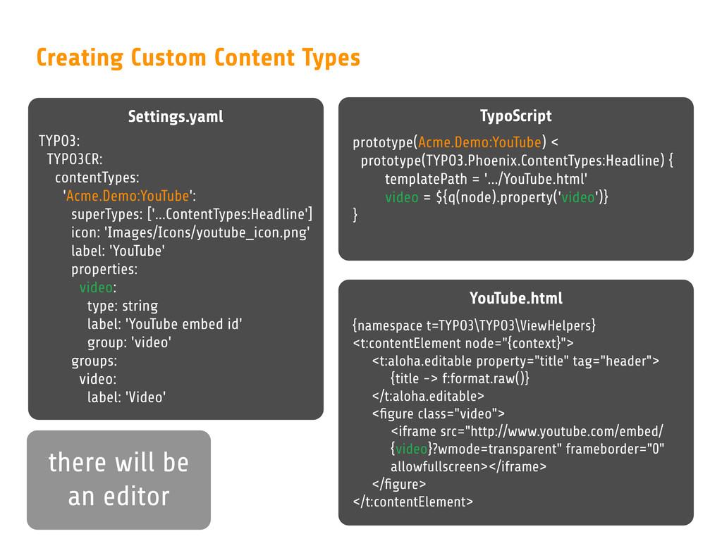 Settings.yaml Creating Custom Content Types TYP...