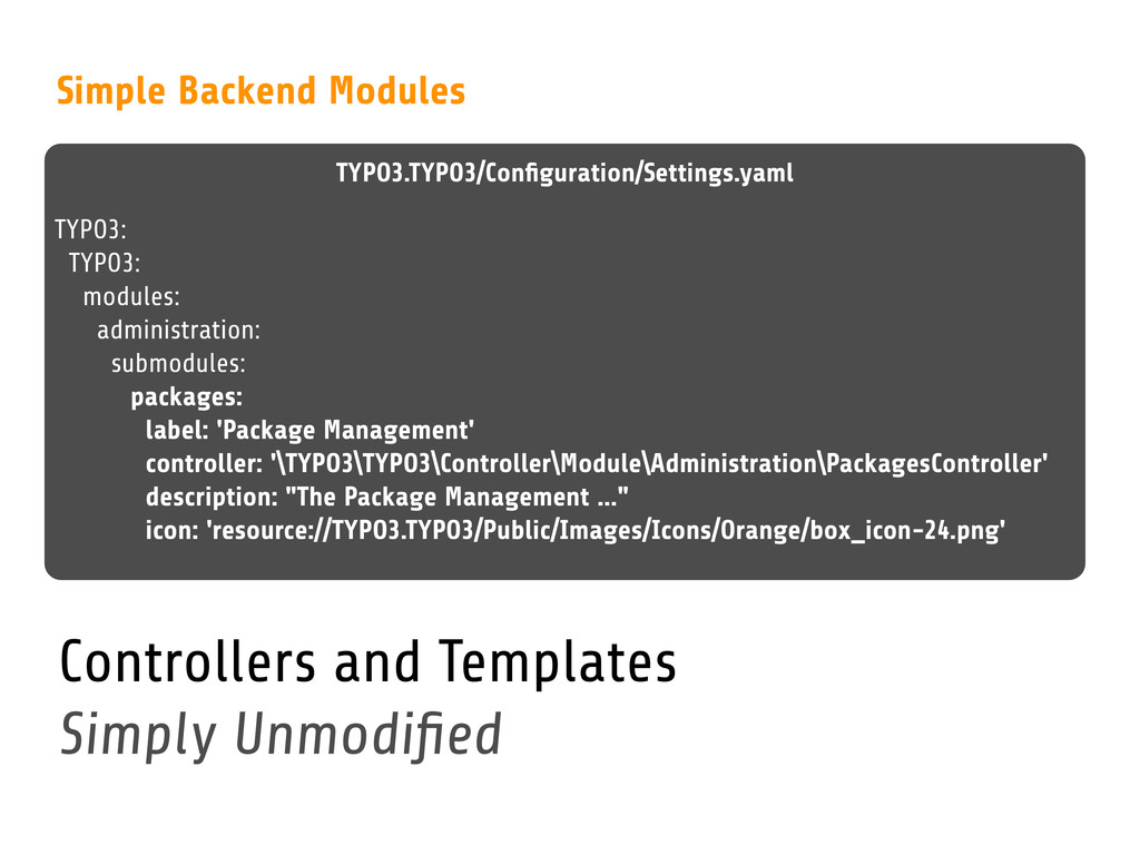 TYPO3.TYPO3/Configuration/Settings.yaml Simple B...